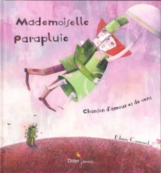 Mademoiselle parapluie表紙